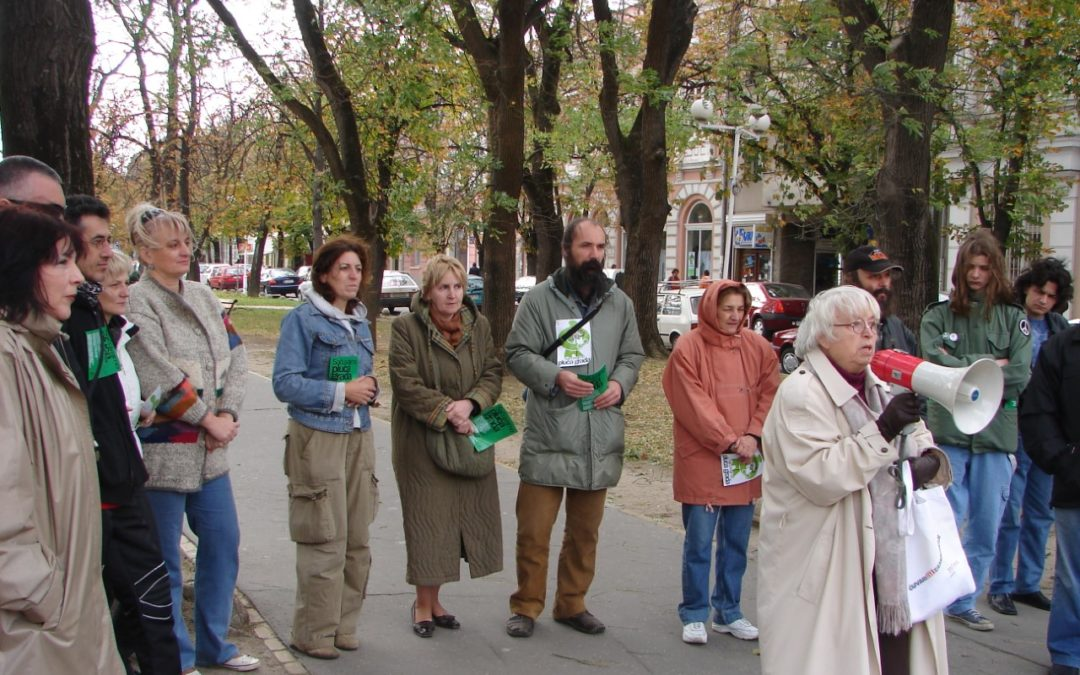 Project: Civic initiative for protection of parks, forests and tree-lines